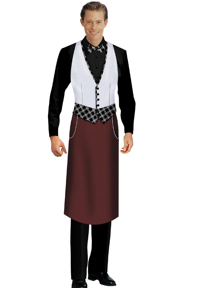 西餐传菜服装2