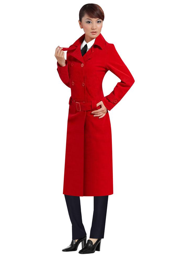 女士职业装大衣