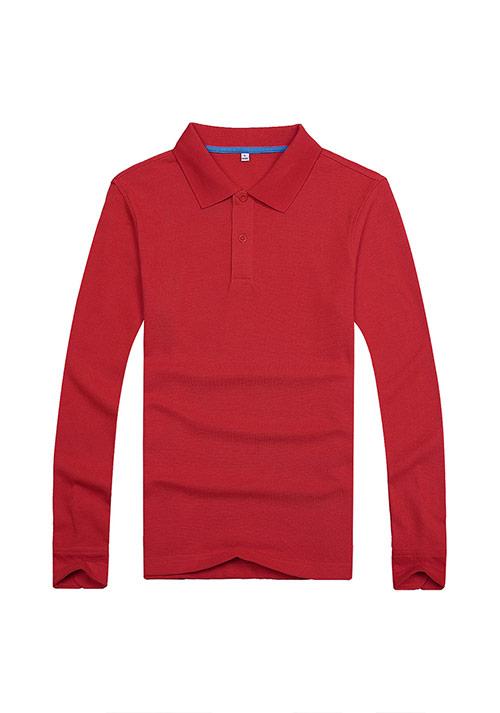 红色文化衫