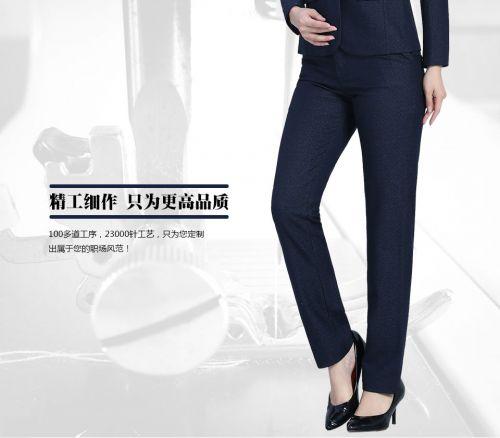 黑11女士西裤