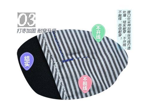 新款银灰拼红春秋工服FY814